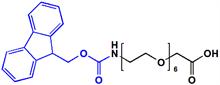 Picture of Fmoc-NH-PEG<sub>6</sub>- CH<sub>2</sub>COOH
