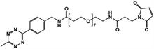 Picture of Methyltetrazine-amino-PEG<sub>7</sub>-CH<sub>2</sub>CH<sub>2</sub>NHMal