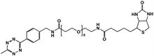 Picture of Methyltetrazine-amino-PEG<sub>10</sub>-Biotin