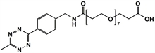 Picture of Methyltetrazine-amino-PEG<sub>7</sub>-CH<sub>2</sub>CH<sub>2</sub>COOH